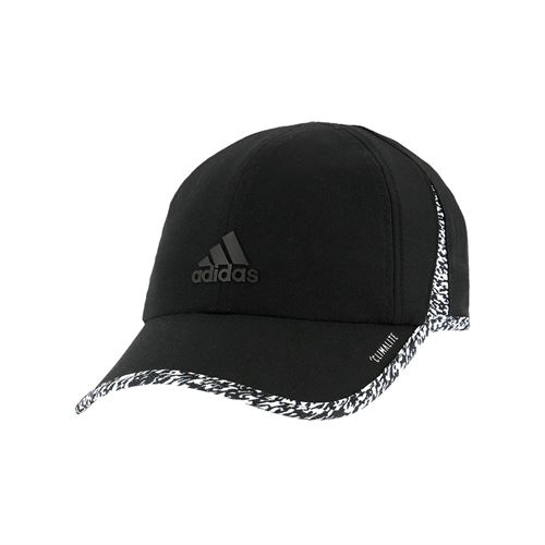156be4f564b adidas Womens SuperLite Cap - Black White 3D Pixel