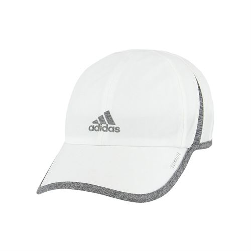 adidas Womens SuperLite Cap - White Light Grey Heather 374aa49ba5