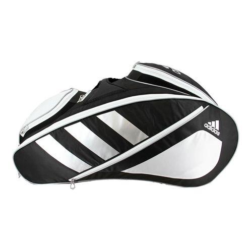 adidas Tour Tennis 12 Pack Tennis Bag - Black/White/Silver