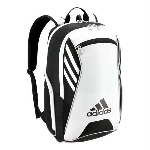 ae9fba9a7c94 adidas Tour Tennis Backpack - Black White Silver