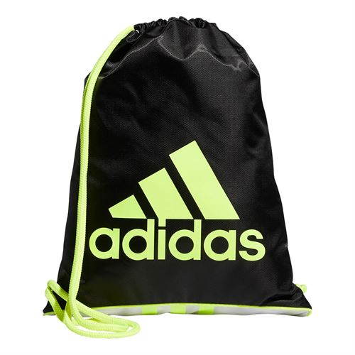adidas Sackpack - Black/Solar Yellow