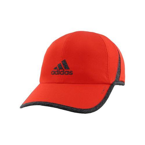 97325032d93545 adidas SuperLite Cap - Active Red/Dark Heather Grey