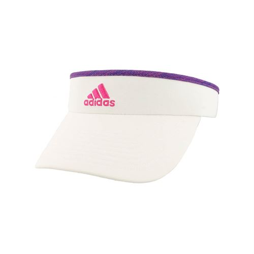 78296c879b0 adidas Womens Match Visor - White Blue Pink