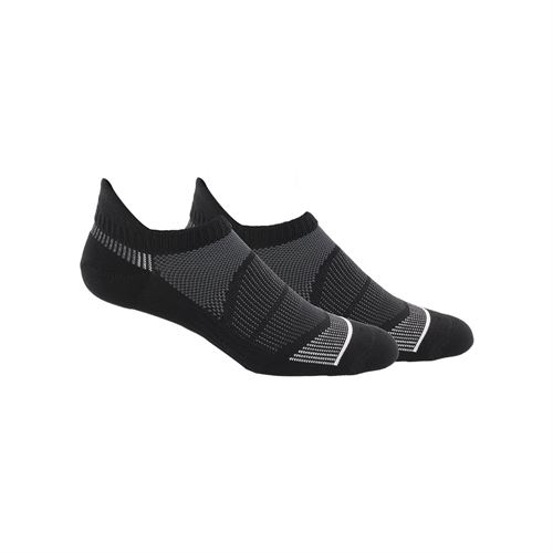 adidas Superlite Prime Mesh III Tabbed No Show Sock (2 Pack) - Black/White