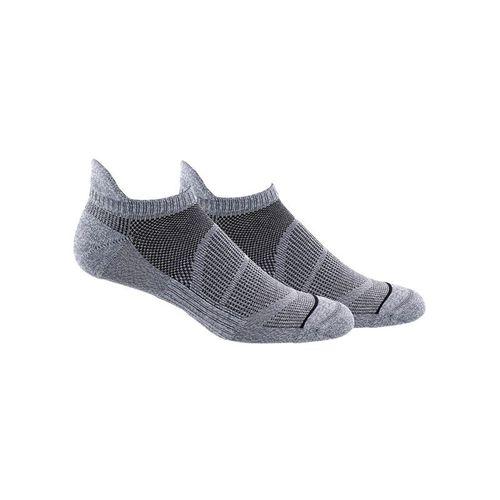 adidas Superlite Prime Mesh III Tabbed No Show Sock (2 Pack) - Onix/Black