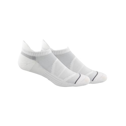 adidas Superlite Prime Mesh III Tabbed No Show Sock (2 Pack) - White/Grey