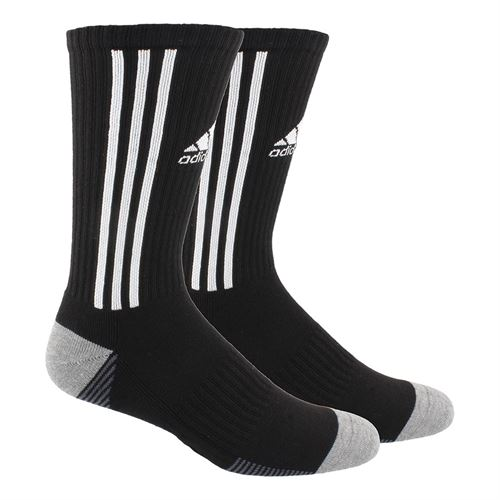 adidas Tiro Crew Sock - Black/White/Onix/Heather Grey