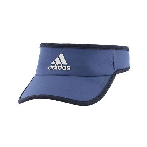 adidas Mens SuperLite Visor - Blue/Legend Ink Blue/Silver