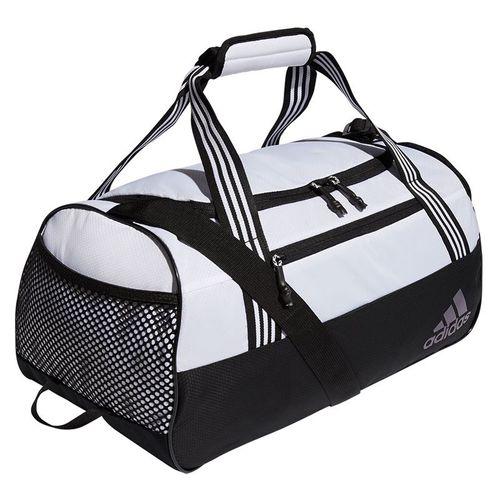 adidas Squad IV Duffel Tennis Bag - Jersey White