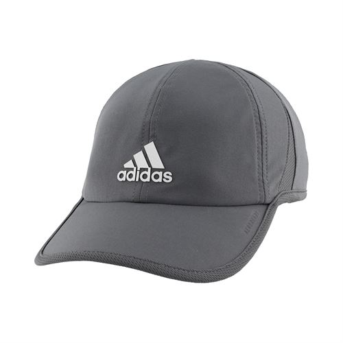 adidas Mens SuperLite Hat - Grey Six/Silver