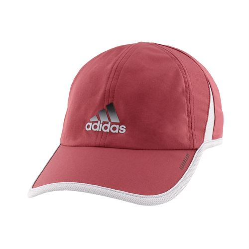 adidas Mens SuperLite Hat - Legacy Red/Glory Grey/Black