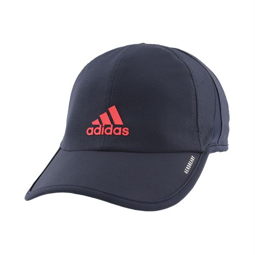 adidas Mens SuperLite Hat - Legend Ink/Scarlet