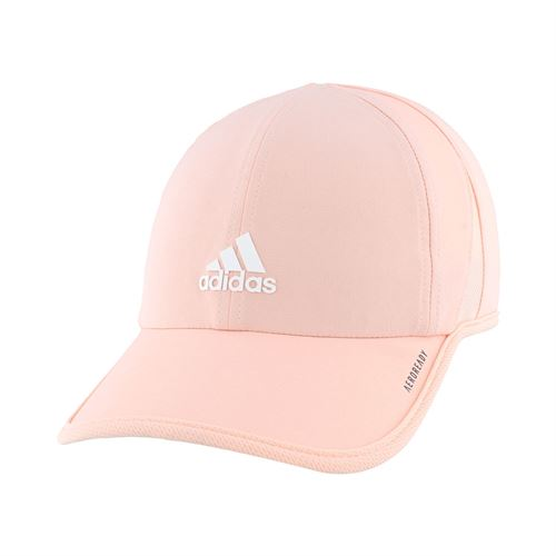 adidas Womens SuperLite Hat - Haze Coral Pink/White