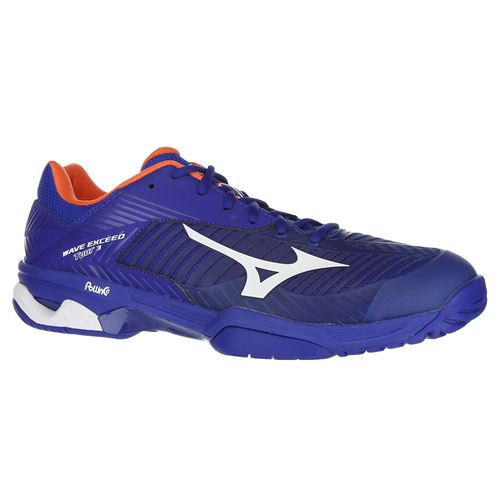 Mizuno Wave Exceed Tour 3 Mens Tennis Shoe - Blue