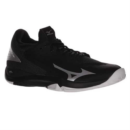 Mizuno Wave Impulse Mens Tennis Shoe - Black/Silver