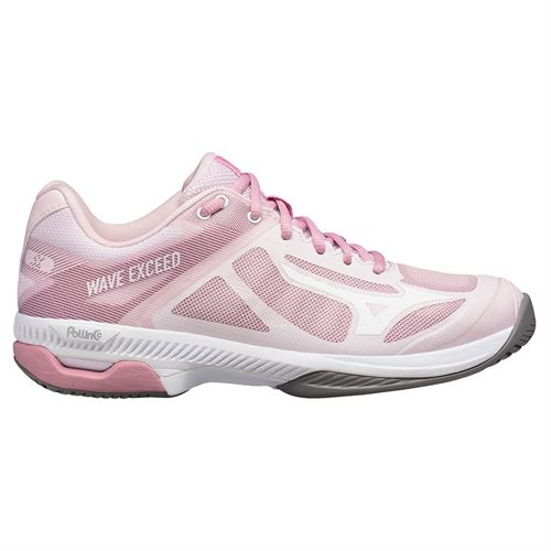 Mizuno Wave Exceed SL AC Womens Tennis Shoe Pink/White 550028 1300