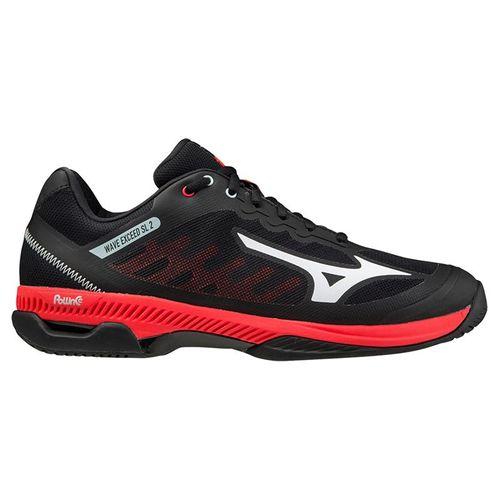 Mizuno Wave Exceed SL 2 Mens Tennis Shoe Black/Red/White 550031 9000