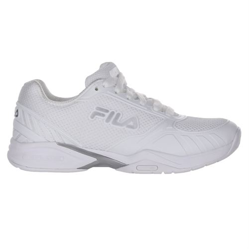 Fila Volley Zone Womens Pickleball Shoe - White/Silver