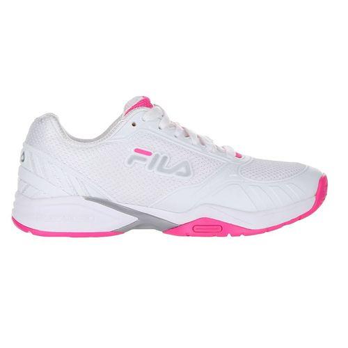Fila Volley Zone Womens Pickleball Shoe - White/Pink