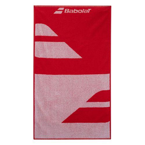 Babolat Medium Towel White/Fiesta Red