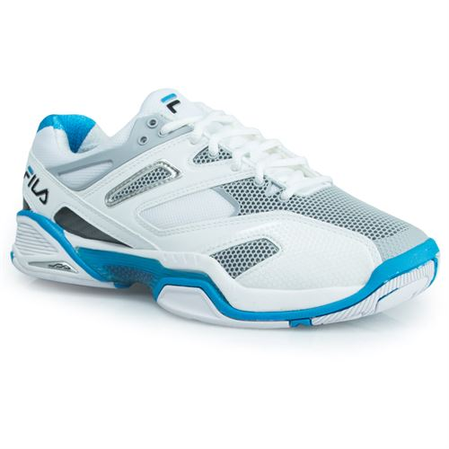 Fila Sentinel Womens Tennis Shoe - White/Ocean/Black