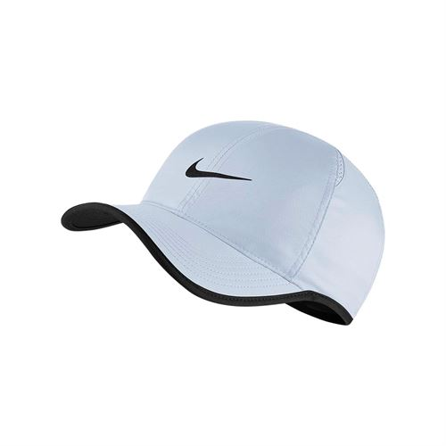 Nike Court Aerobill Featherlight Hat - Half Blue Black 3b2c61f4fc47
