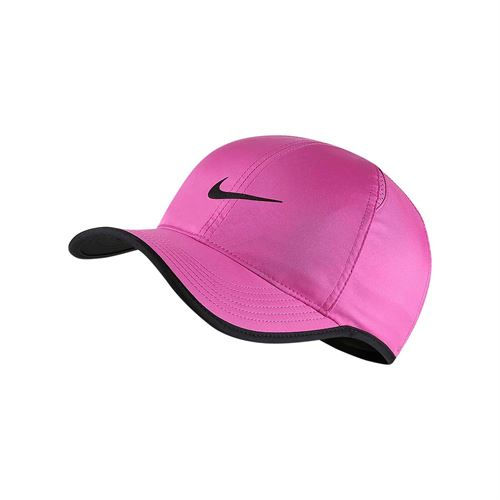 e0c73424212 Nike Court Aerobill Featherlight Hat - Active Fuchsia Black