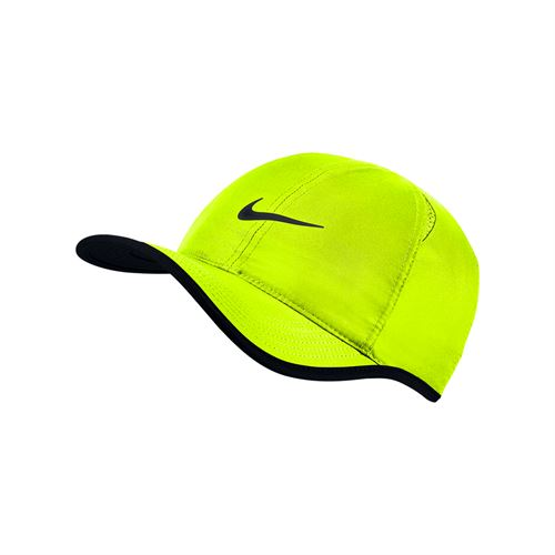 Nike Court Aerobill Featherlight Hat - Volt/Black