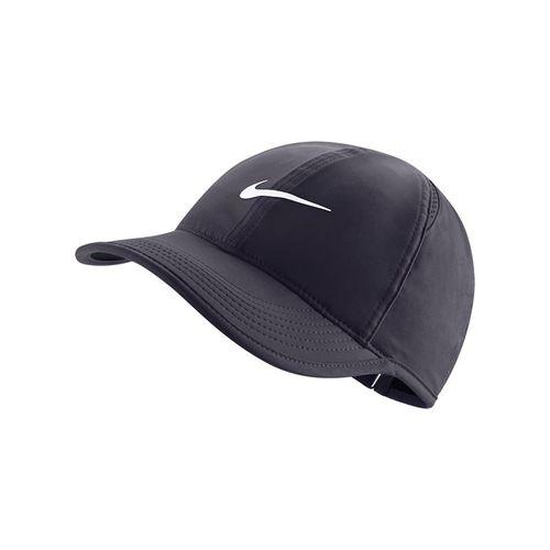 Nike Womens Court Aerobill Featherlight Hat - Gridiron/Black