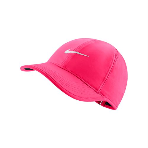 Nike Womens Court Aerobill Feather Light Hat - Racer Pink/Black