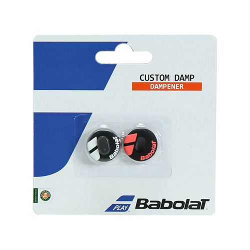 Babolat Custom Damp Vibration Dampener - Black/Fluo Red