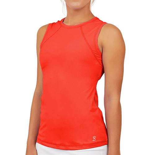 Sofibella UV Colors Sleeveless Top Plus Size Womens Berry Red 7003 BERP