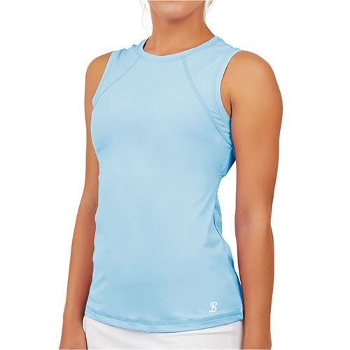 Sofibella UV Sleeveless Tank Womens Cloud 7003 CLD