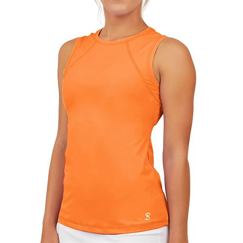 Sofibella UV Colors Sleeveless Top Womens Nectarine 7003 NEC
