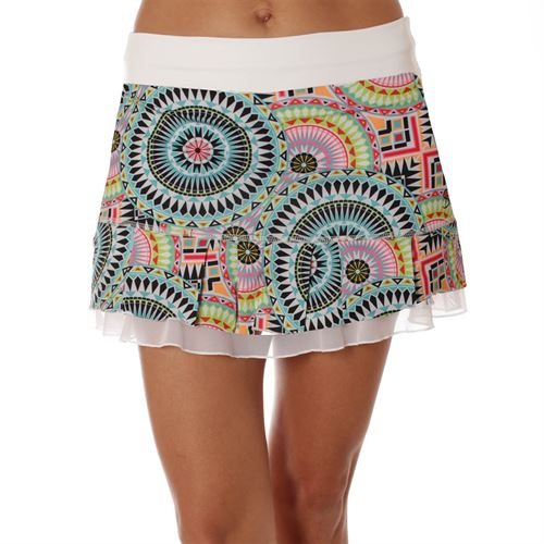 Sofibella UV Doubles 13 Inch Skirt - Medallion Print