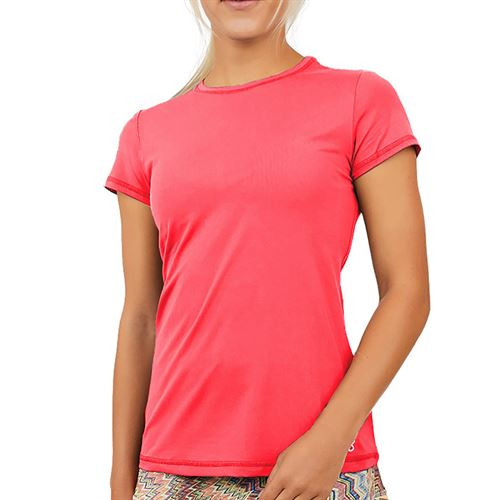 Sofibella UV Short Sleeve Top Womens Amore Print 7012 AMR