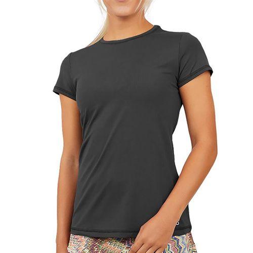 Sofibella UV Short Sleeve Top Womens Grey 7012 GRY