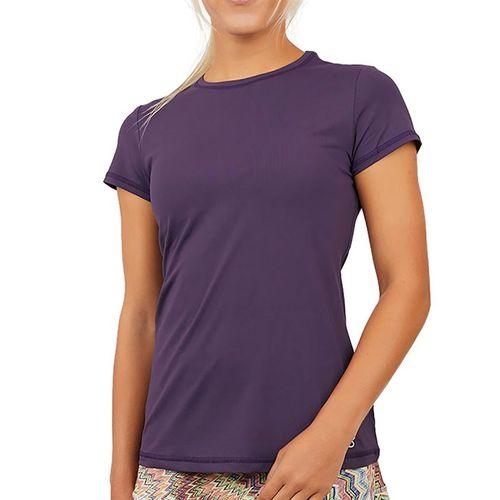 Sofibella UV Short Sleeve Top Womens Plum 7012 PLU