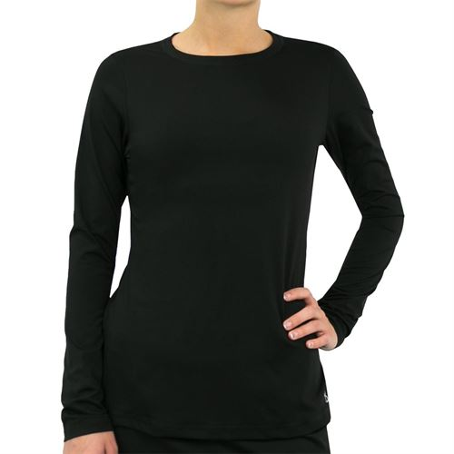 Sofibella UV Long Sleeve Top Womens Black 7013 BLK