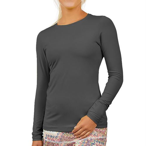 Sofibella UV Long Sleeve Top Womens Grey 7013 GRY