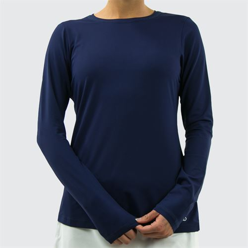 Sofibella UV Long Sleeve Top - Navy