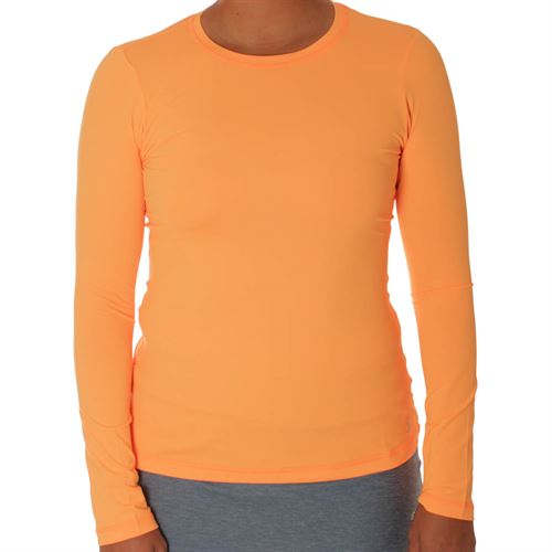 Sofibella UV Long Sleeve Top - Tangerine