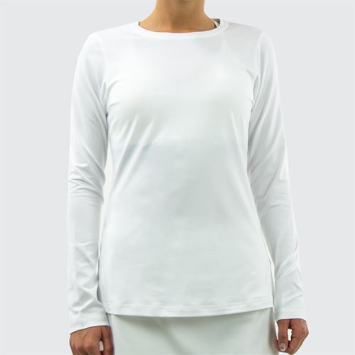 Sofibella UV Long Sleeve Top - White