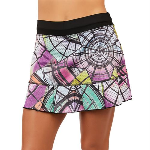 Sofibella UV Colors 14 inch Skirt Plus Size Womens Cathedral 7016 CTLP
