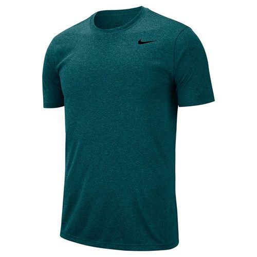 Nike Dry Legend Tee Shirt Mens Dark Teal Green/Black 718833 393