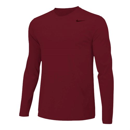 Nike Team Legend Long Sleeve - Team Maroon/Cool Grey