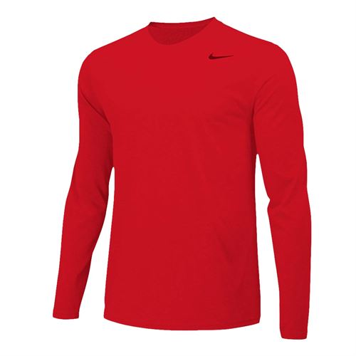 Nike Team Legend Long Sleeve - University Red/Cool Grey