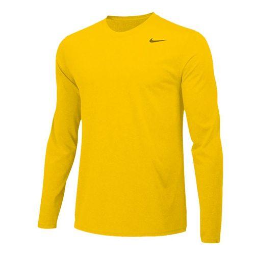 Nike Team Legend Long Sleeve - Sundown/Black