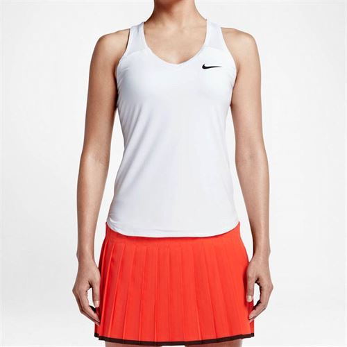 Nike Team Pure Tank - White