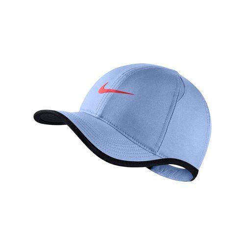 buy online 57b40 251c6 Nike Kids Aerobill Featherlight Hat - Aluminum Ember Glow